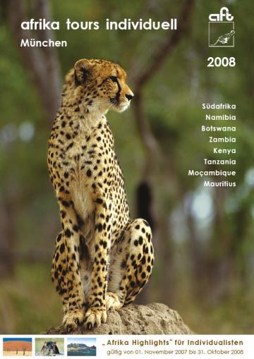 Afrika Reisen Katalog 2008