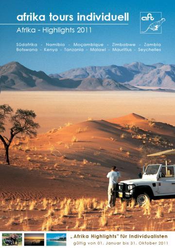 Afrika Tours Individuell Reisekatalog 2011