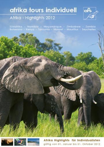 Afrika Tours Individuell Reisekatalog 2012