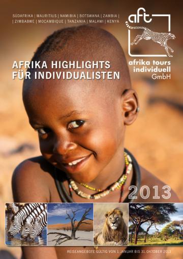 Afrika Tours Individuell Reisekatalog 2013