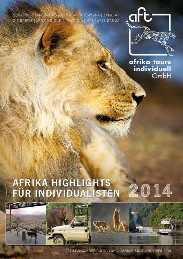 Afrika Tours Individuell Reisekatalog 2014