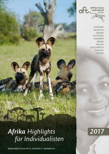 Reisekatalog: Afrika Highlights für Individualisten 2017