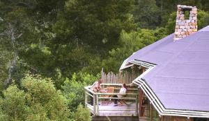 """Genießen Sie bei einem kühlen """"Sundowner"""" die Atmosphäre des üppigen Urwaldes bei Plettenberg Bay in Südafrika"""