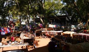 Erleben Sie einen traditionellen Markt im Königreich Swaziland