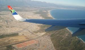 Flug ab Kapstadt mit der South African Airways