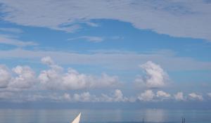 Lassen Sie sich in Zanzibar mitnehmen auf eine Fischerbootsfahrt auf dem Indischen Ozean