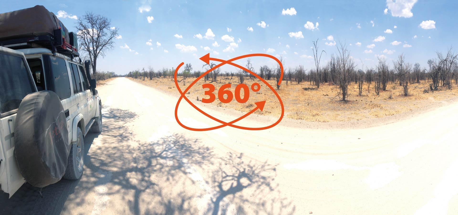 360 Grad Safari - Virtuelle 3D Reise zu den schönsten Platzen Afrikas