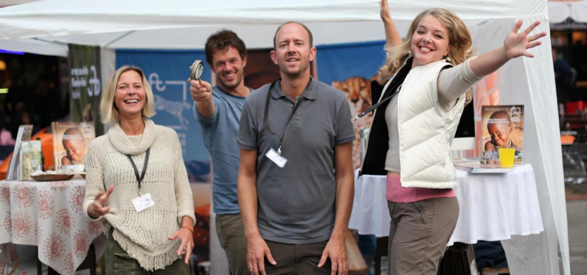 Afrika Tours Individuell Team auf dem Schwabinger Street Life Festival