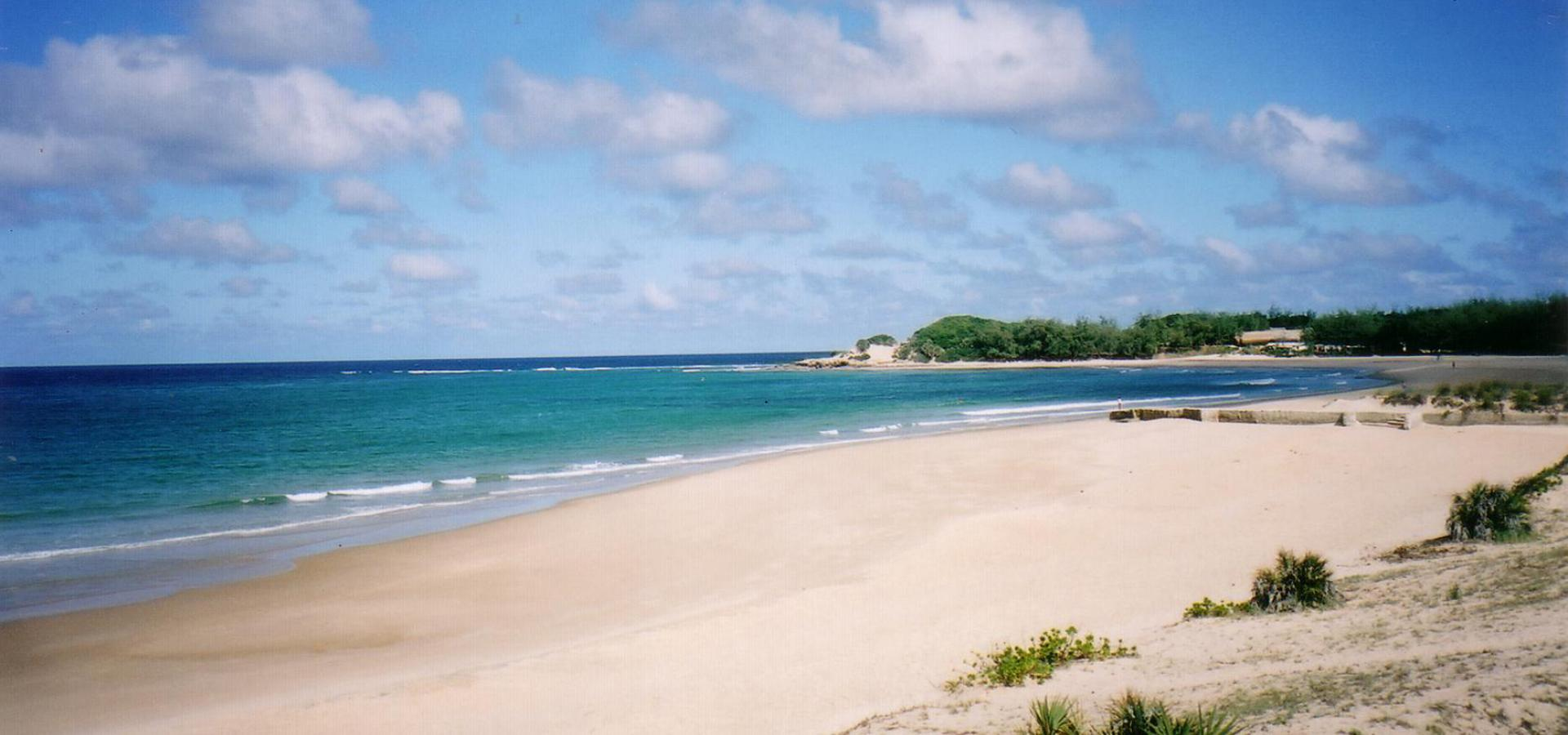 Mosambik Badeurlauab am Tofo Beach