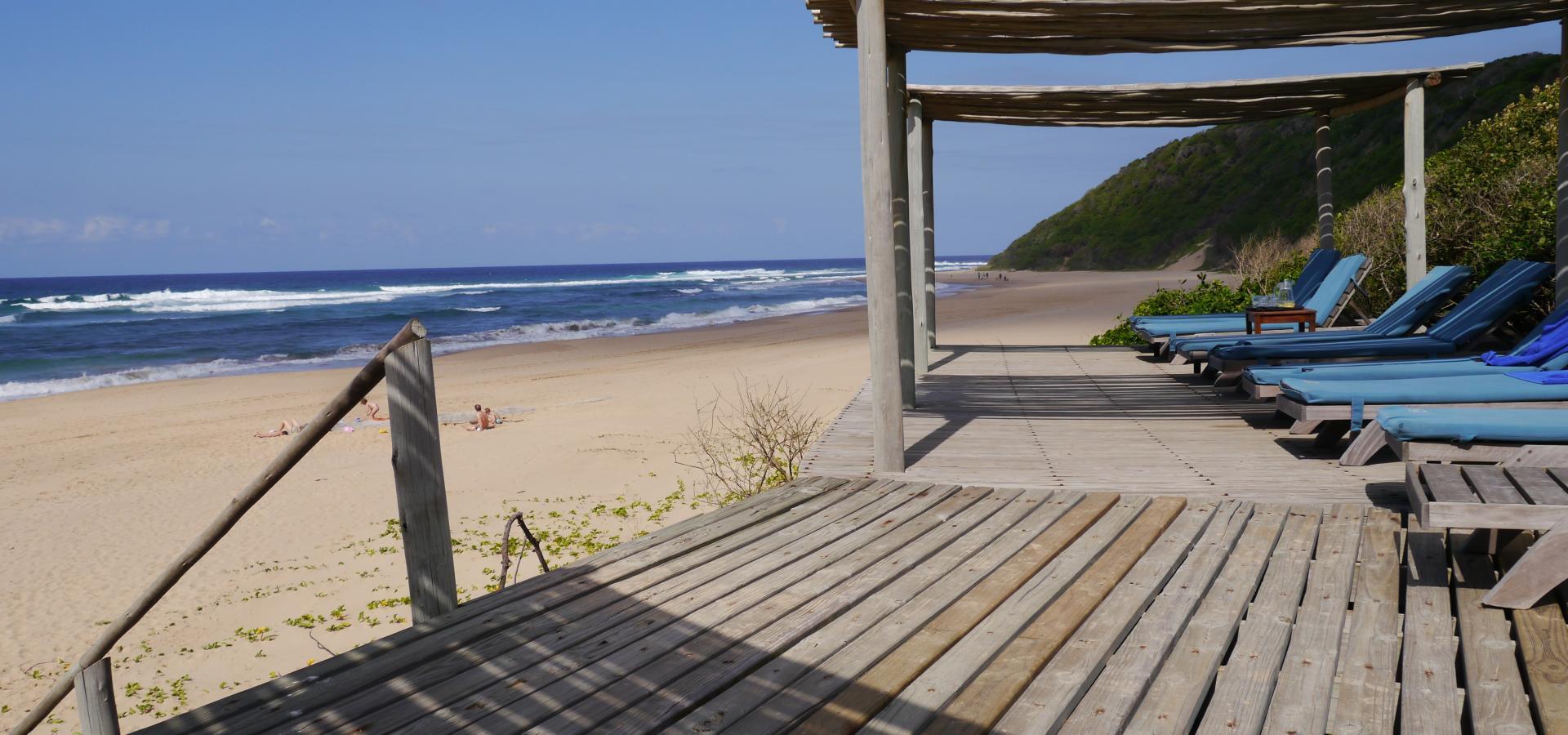 Lassen Sie an den Stränden der Thonga Beach Lodge in Südafrika die Seele baumeln