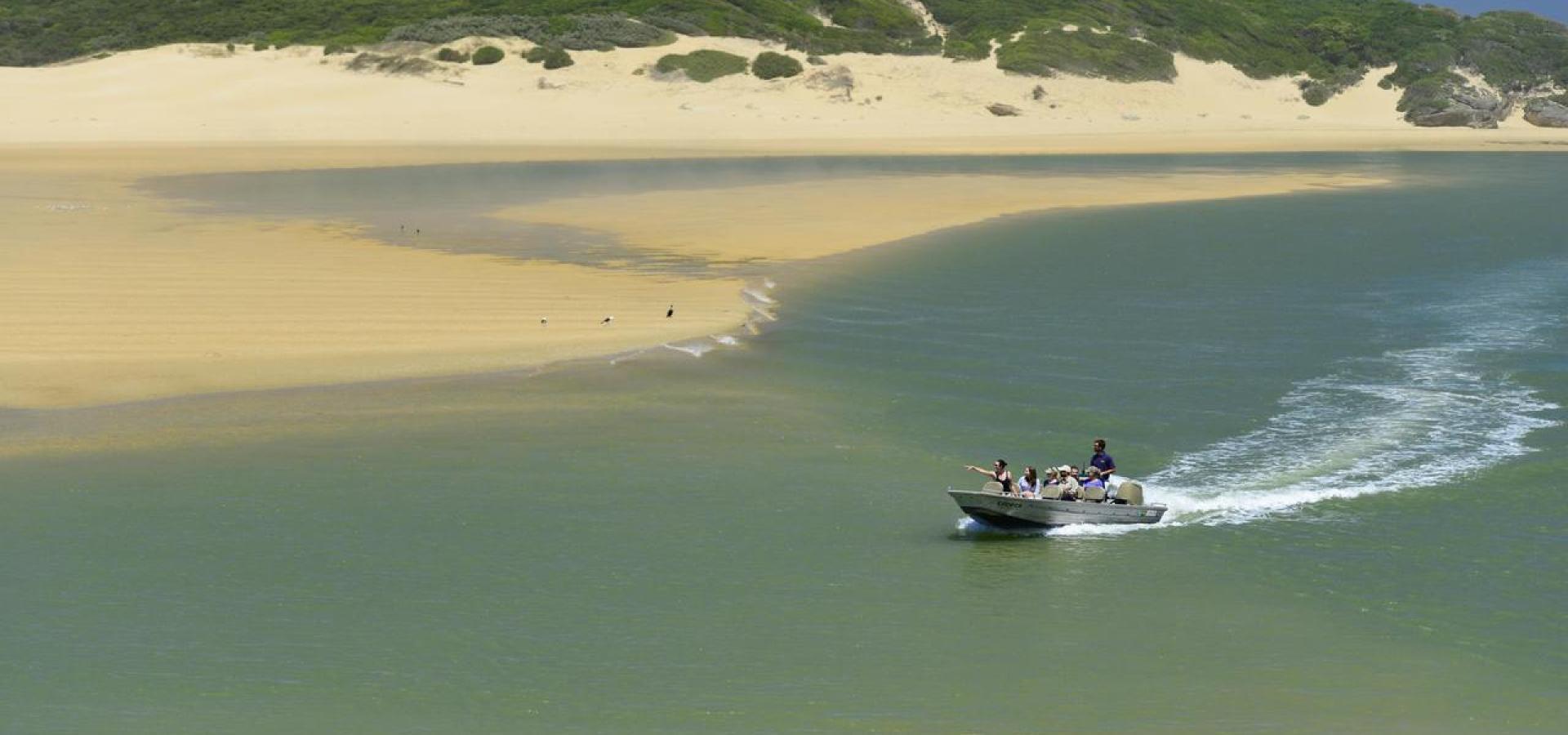 Exklusive Bootsfahrten bei Kenton on Sea (optional)