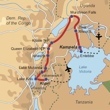 Entdeckungsreise Uganda & Ruanda -Deutsch- Bzw. englischsprachige Kleingruppenreise durch Uganda & Ruanda