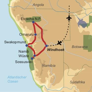 Namibia Lodge Safari