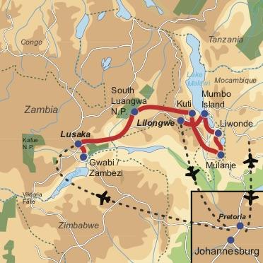 Zambia & Malawi Adventure Kleingruppen-Safari für Entdecker durch Zambia und Malawi