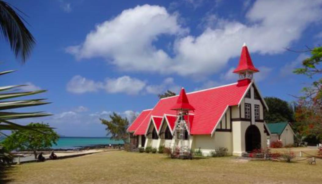 Hochzeits-Kapelle auf Mauritius
