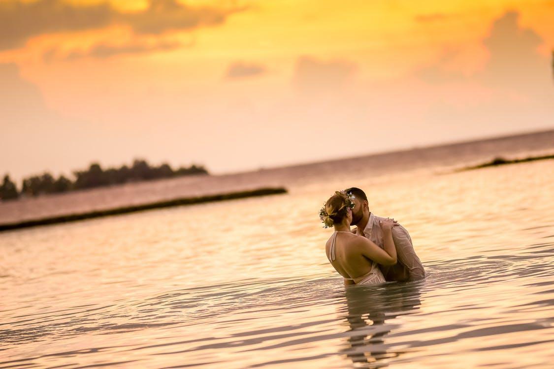 Honeymooner auf Mauritius