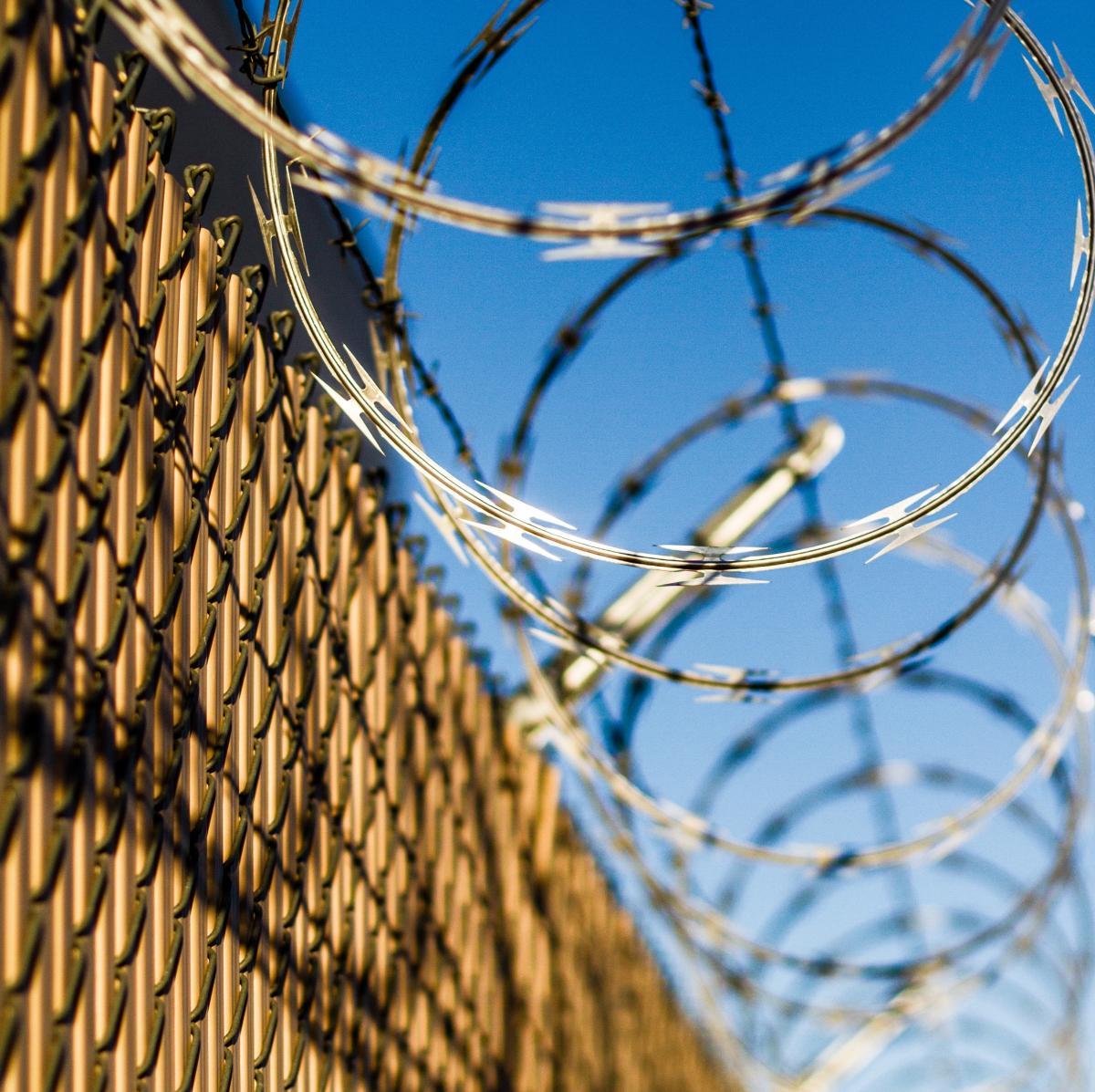 Zaun und Stacheldraht | Hochsicherheitsgefängnis robben island