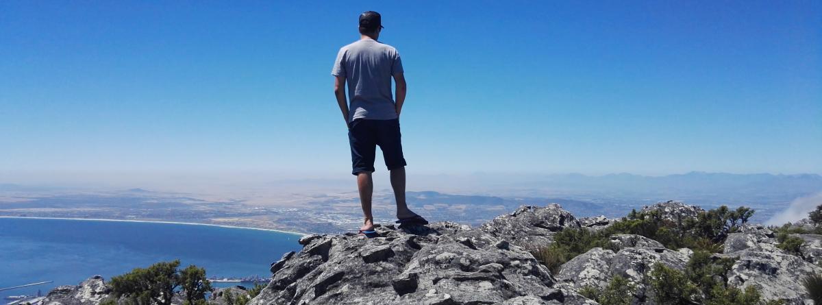 Aussicht vom Tafelberg auf die Kapregion