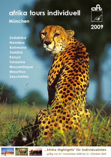 Afrika Tours Individuell Reisekatalog 2009