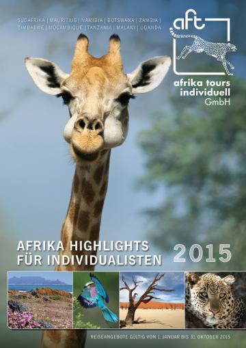 Afrika Tours Individuell Reisekatalog 2015