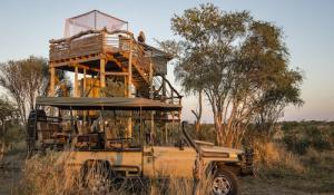 Skybeds Plattform - Khwai Private Game Reserve