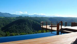 Ausblick von der Tamodi Lodge