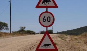 Schild Namibia