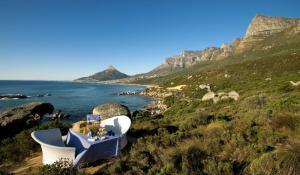 Bergkette Twelve Apostels in Kapstadt