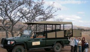 Kindersafari im Kololo Private Game Reserve