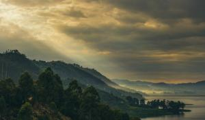 Hügellandschaft Uganda