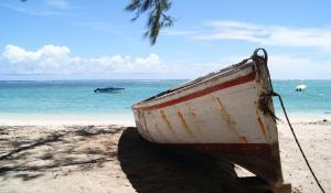 Lassen Sie sich mitnehmen auf eine Fischerbootsfahrt auf Mauritius