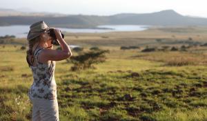 Machen Sie aufregende Buschwanderungen im exklusiven Manyeleti Game Reserve in Südafrika