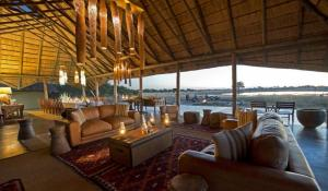 Camp Hwange - Lounge Area