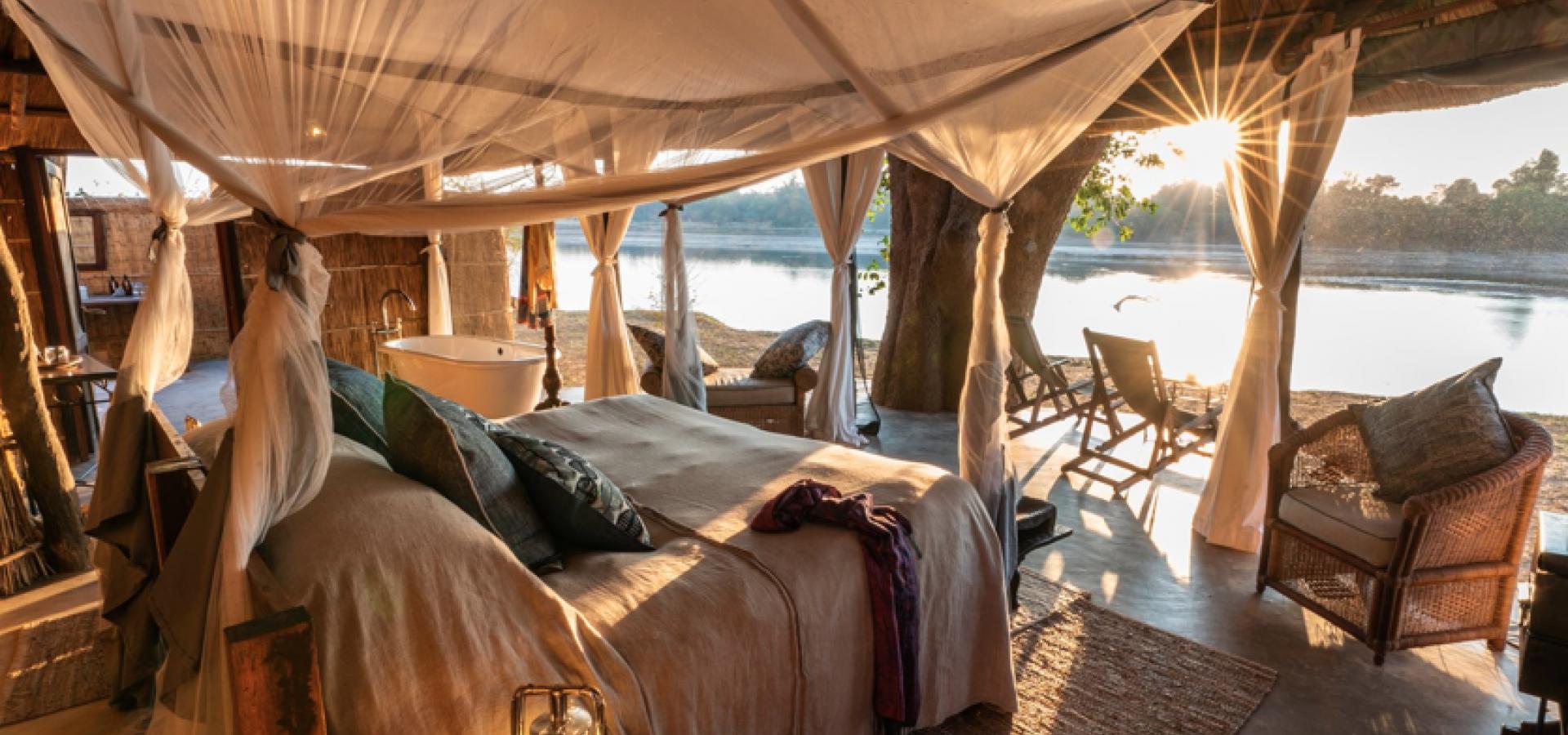 Romantische Wildnis EXKLUSIVE FLUGSAFARI IN ZAMBIA UND STRANDURLAUB AM LAKE MALAWI