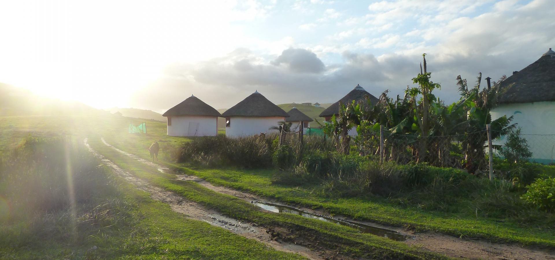 Xhosa Dorf an der Wild Coast