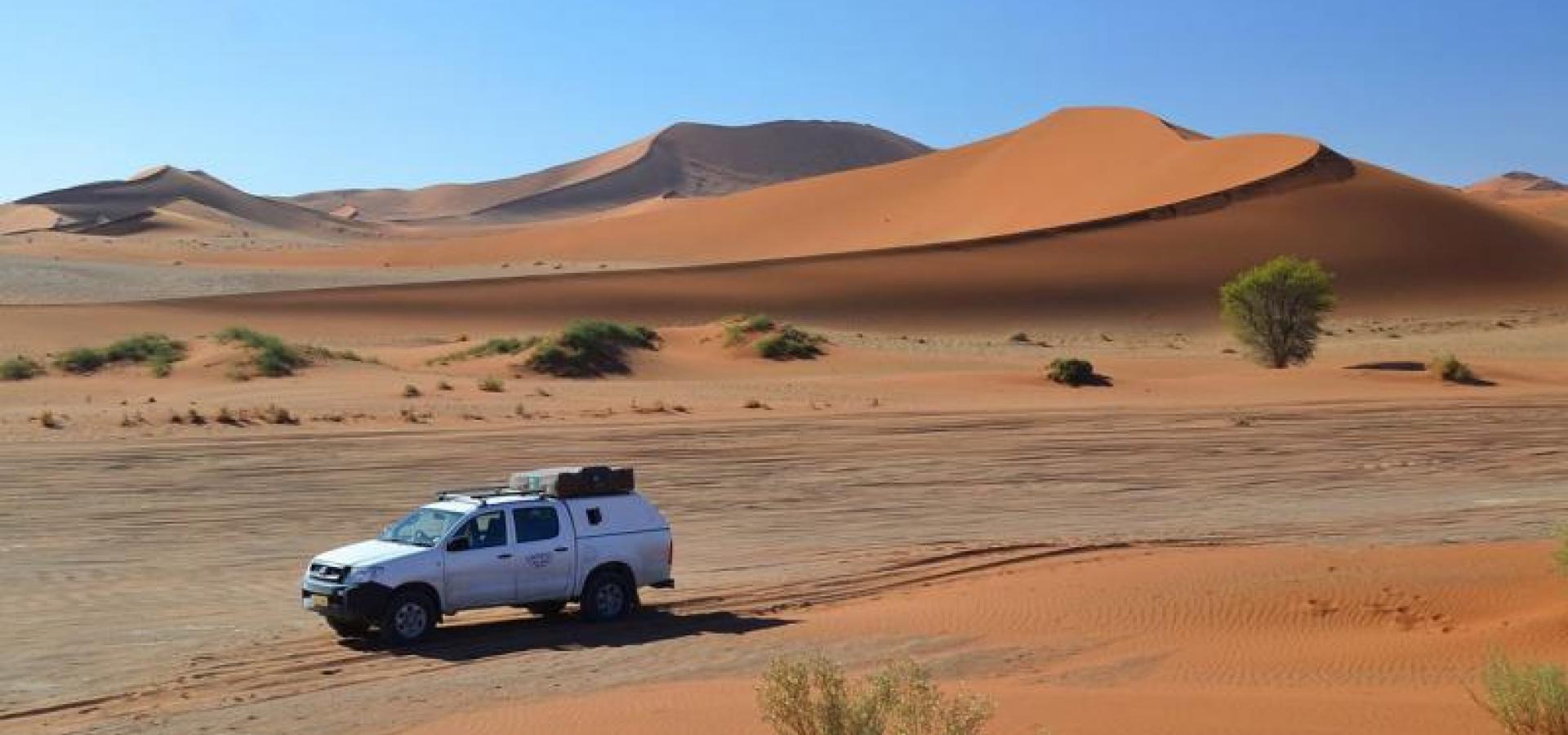 Mit dem Camper in die Wüsten Namibias