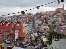 Antananarivo Hauptstadt Madagaskars aus der Luft