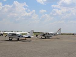 Buschflieger für Flugsafari bzw. Fly-In Safari in Botswanas Wildniss