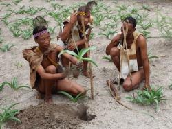 Botswana Buschmänner