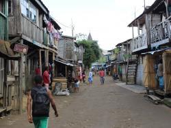 Dorf auf Madagaskar