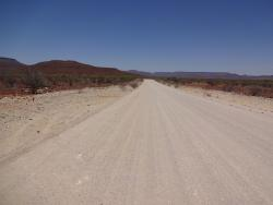 Pad in Namibia