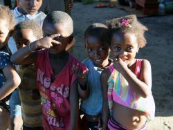 Madagassische Kinder