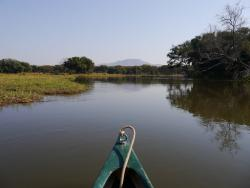 Bootssafari in Sambia