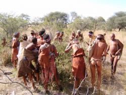 Buschmänner bei Tsumkwe