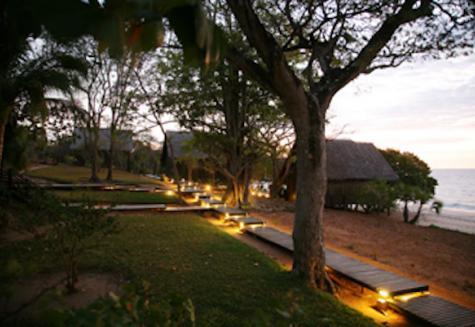 Anjajavy La Villa von Außen
