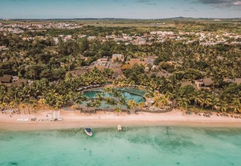 Hotel Trou aux Biches Resort & Spa Luftaufnahme