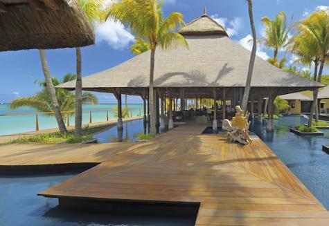 Hotel Trou aux Biches Resort & Spa  Steg am Meer