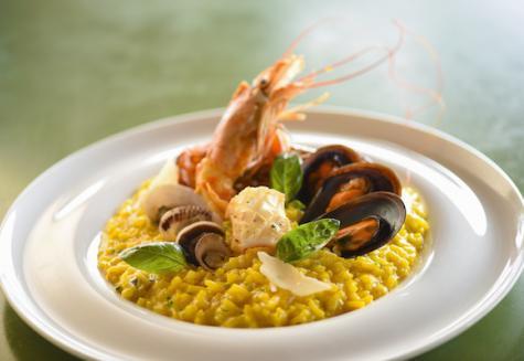 Hotel Trou aux Biches Resort & Spa RMahlzeit im Restaurant